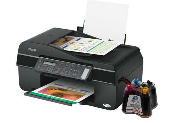 МФУ EPSON Stylus Office BX305F с СНПЧ  drthumbonly
