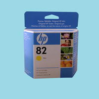Ink Cart. HP 2000/2500 Y (C4842AE) №10 Yellow  drthumbonly