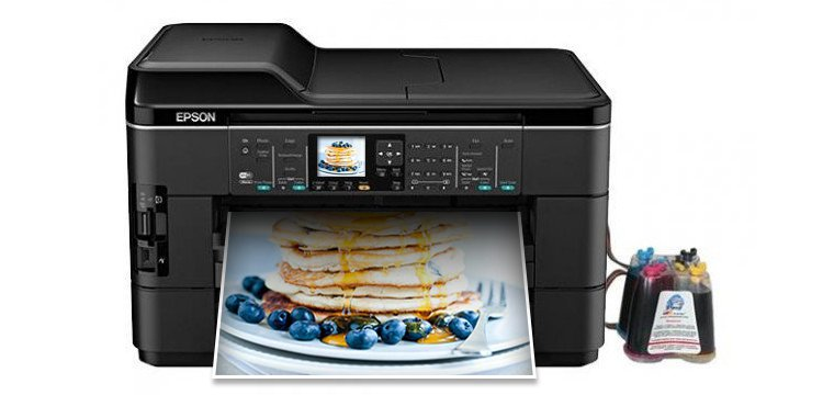 МФУ Epson WorkForce WF-2520 с СНПЧ   drthumbonly
