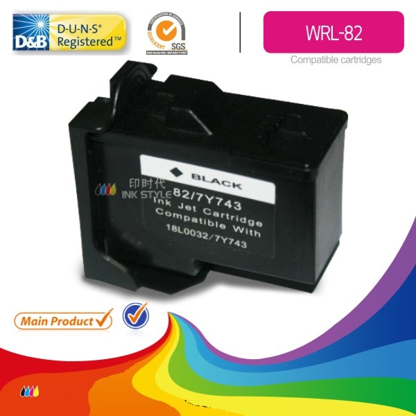 Струный картридж Lexmark № 82 Black  drthumbonly