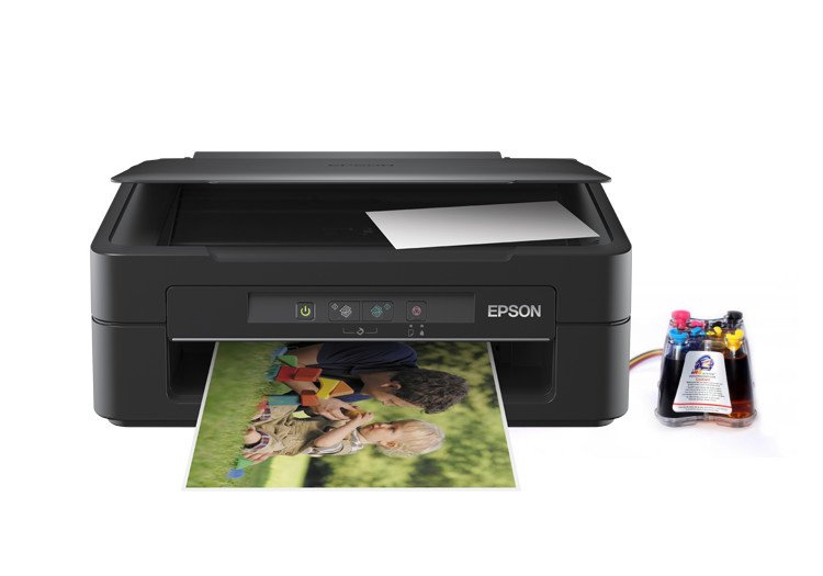 МФУ Epson  Expression Home XP-100 c СНПЧ  drthumbonly